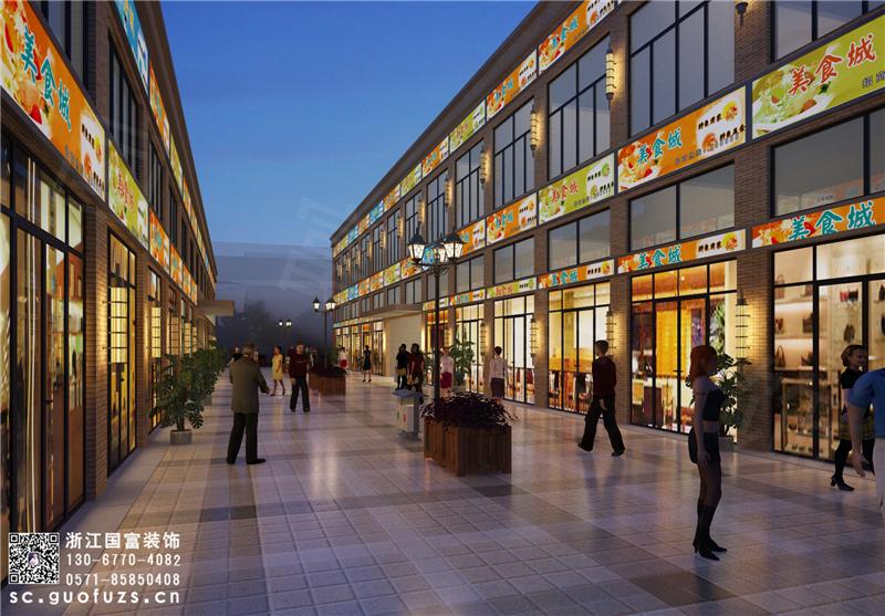 杭州商场设计,人气十足的商场需要如何设计